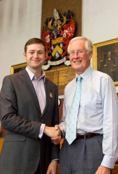 ACCOLADE: I was honoured to speak at this week's ceremony to award Michael Meacher the Freedom of the Borough.