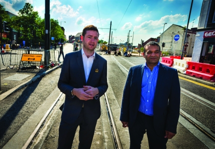 REGENERATION: Metrolink coming into the town centre is just one part of massive physical regeneration planned in Oldham
