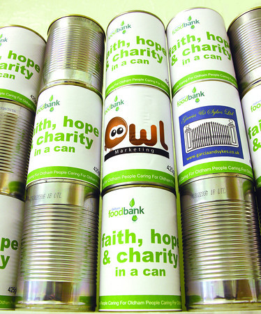 FOODBANKS: A growing symbol nationwide of how people are struggling to make ends meet.