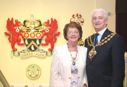 AMBASSADORS: John and Kathleen Hudson can be proud of an incredible year as Mayor and Mayoress of Oldham.