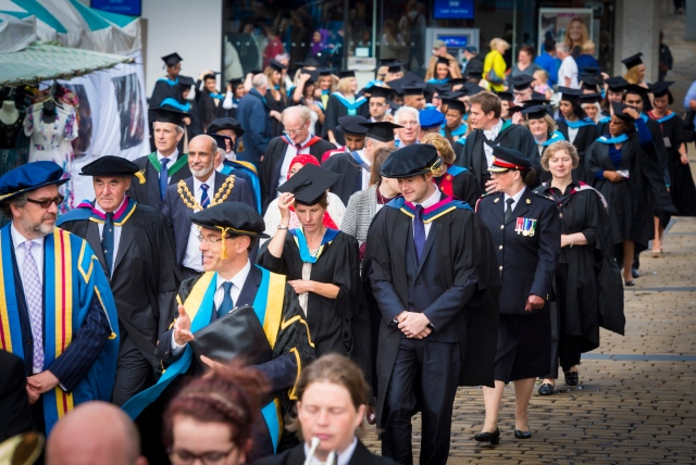 HATS OFF: I was humbled to join the latest stream of graduates from University Campus Oldham