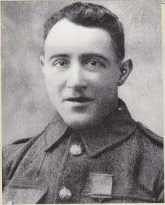 Sergeant John Hogan who won his VC on October 29