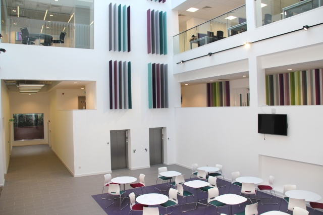 FIRST PLACE: The stunning interior of FCHO's new headquarters on Union Street.
