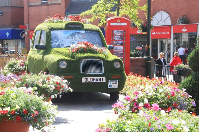 THE WOW FACTOR: The town centre showcase for Bloom and Grow 2015