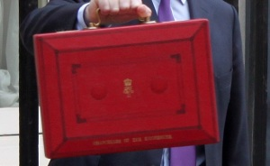 EMERGENCY BUDGET: The famous red box is likely to reveal an estimated £12bn in welfare reform cuts in the years ahead