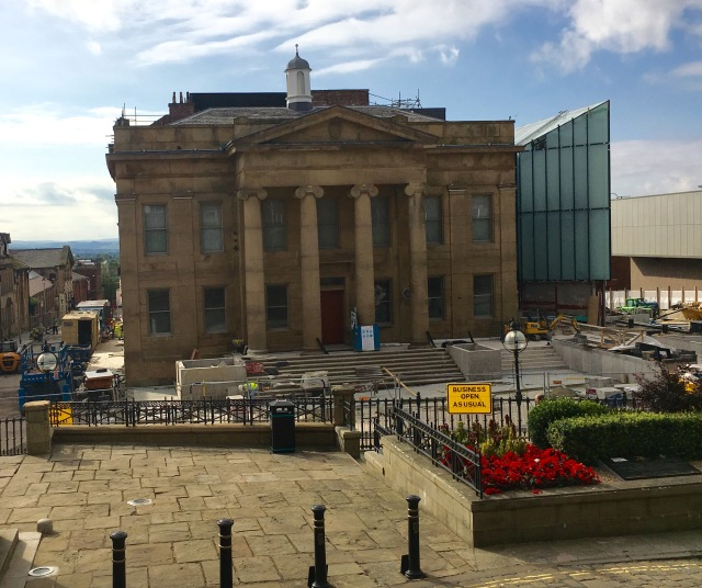 Old Town Hall, Oldham, September 7, 2016