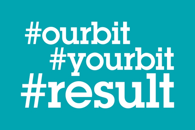 #ourbit #yourbit #result graphic